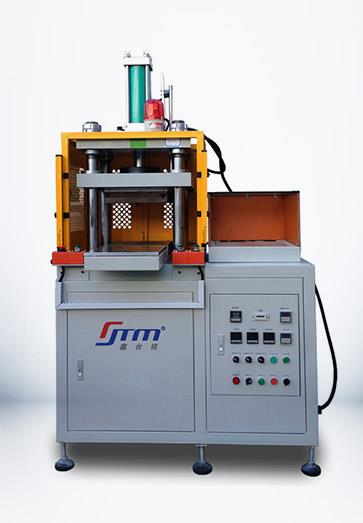 XTM105F热压凸包机的外观