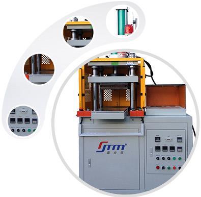 XTM105F热压凸包机的特点